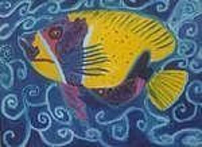 Painting - Angel Fish by Carmela Cattuti