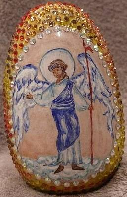 Mixed Media - Angel Gabriel by Svetlana  Jenkins