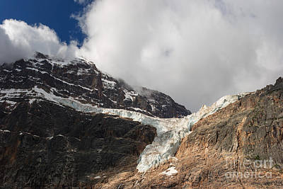 Photograph - Angel Glacier by Charles Kozierok