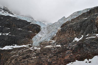 Photograph - Angel Glacier by Jim Hogg
