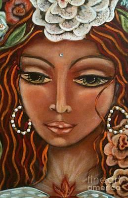 Painting - Angel Heart by Maya Telford