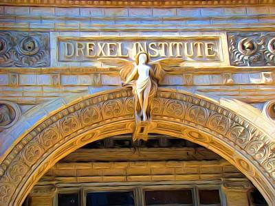 Photograph - Angel In Drexel by Alice Gipson