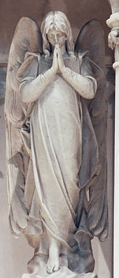 Carrara Marble Wall Art - Photograph - Angel In Marble 2 by Philip Ralley