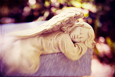 Photograph - Angel In The Garden by Beverly Stapleton