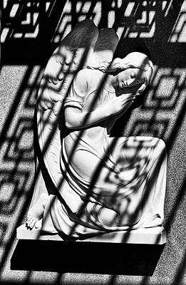 Photograph - Angel In The Shadows 2 by Swank Photography