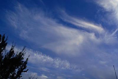 Phenomenon Digital Art - Angel In The Sky by Linda Unger