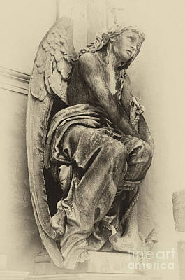 Photograph - Angel In Waiting 1 by Bob Christopher