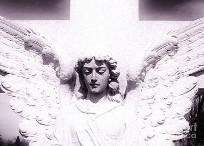 Photograph - Angel In White by Cindy Fleener
