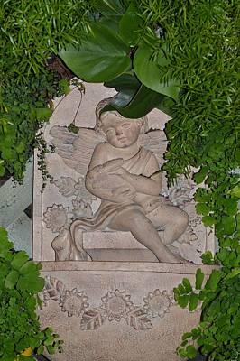 Angel In Woods Art Print