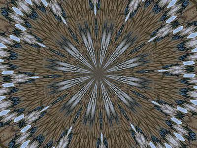 Digital Art - Angel Kaleidoscope One by Kathy K McClellan