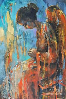 Angel Meditation II Original by Michal Kwarciak