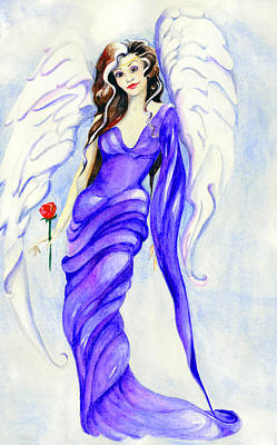 Painting - Angel by Nadine Dennis
