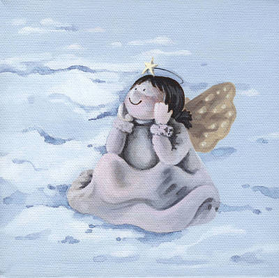 Painting - Angel by Natasha Denger