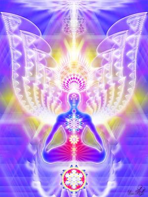 Angel Of Enlightenment Original by Emrys