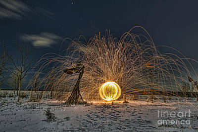 Photograph - Angel Of Fire by Steven K Sembach