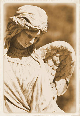 Photograph - Angel Of Grace by Nadalyn Larsen