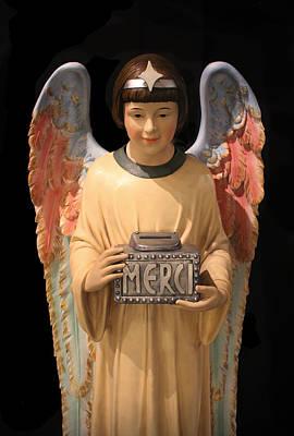 Photograph - Angel Of Merci by Carlos Diaz