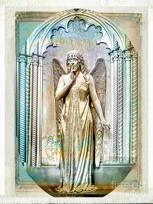 Angel Of Silence.genoa Art Print