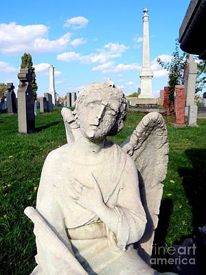 Photograph - Angel Of Sorrow by Ed Weidman