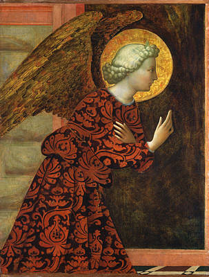 Angel Of The Annunciation Art Print