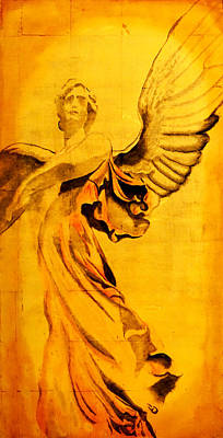 Painting - Angel Of The Horizon II by Giorgio Tuscani