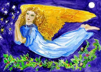 Angel Of The Skies Art Print
