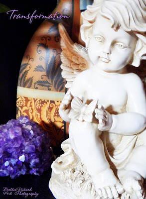 Photograph - Angel Of Transformation by Bobbee Rickard