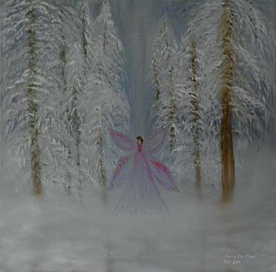 Angel Of Winters Past Art Print