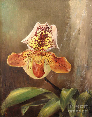 Painting - Angel Orchid by Art By Tolpo Collection