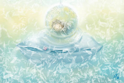 Endearing Digital Art - Angel by Ruta Dumalakaite