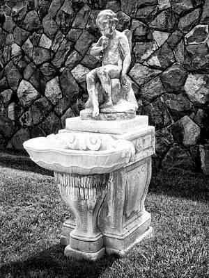 Angel Sanctuary Biltmore Asheville Nc Art Print by William Dey