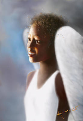 Painting - Angel Smile by Kume Bryant