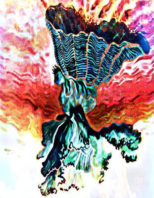 Angel Solar Art Print by Genevieve Esson