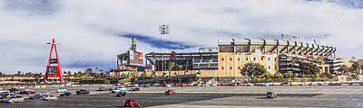 Digital Art - Angel Stadium Of Anaheim by Photographic Art by Russel Ray Photos