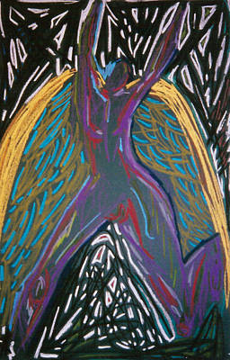 Angel Standing Art Print