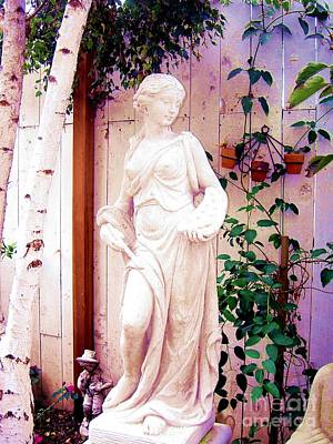 Photograph - Angel Statue by Marlene Rose Besso