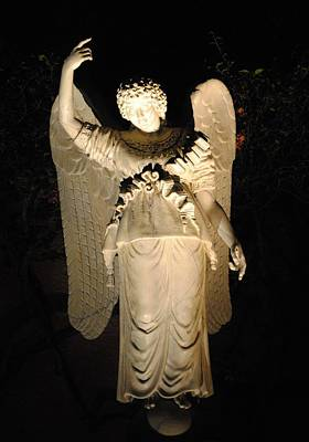Photograph - Angel Statue by Robert  Moss