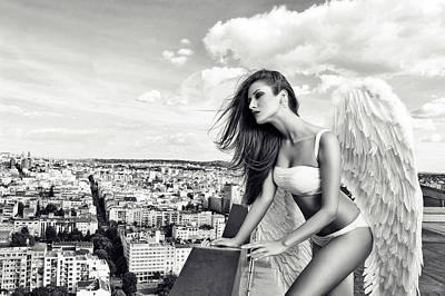 Angelic Photograph - Angel by Stefan Amer