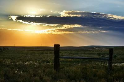 Photograph - Angel Sunrise by Clarice  Lakota