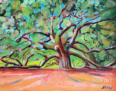 Angel Tree Charleston South Carolina Original by Todd Bandy