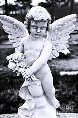 Angel Wings Art Print by John Rizzuto