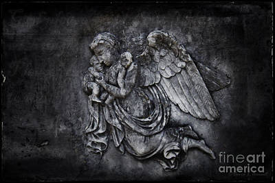 Photograph - Angel With Little Ones by David Arment