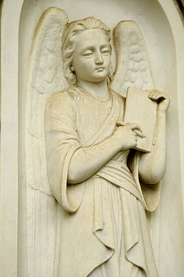 Photograph - Angel With Stylus And Tablet  by Bradford Martin