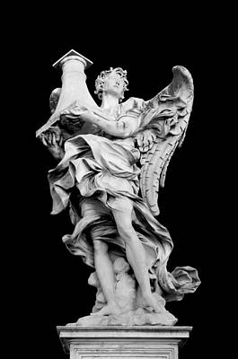 Angelo Photograph - Angel With The Column by Fabrizio Troiani