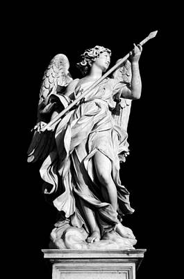 Vatican Photograph - Angel With The Lance by Fabrizio Troiani