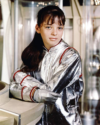 Angela Cartwright In Lost In Space  Art Print by Silver Screen