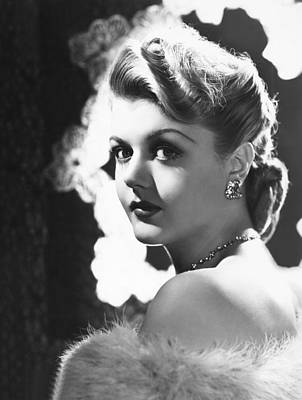 Lansbury Photograph - Angela Lansbury, Mid 1940s by Everett