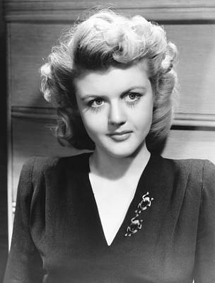 Lansbury Photograph - Angela Lansbury, Mid To Late 1940s by Everett