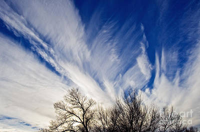 Photograph - Angelic Clouds 4 by Terry Elniski