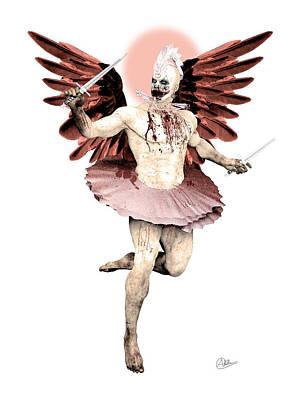 Buy Fine Art Online Digital Art - Nephilim Angelic  by Quim Abella
